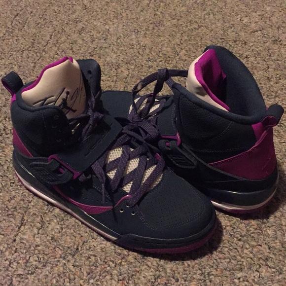 b81af03a042 Jordan Shoes | Blue And Purple S | Poshmark